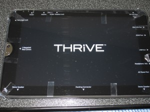Toshiba Thrive 32GB - model AT105-T1032