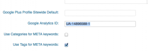 google analytics id account number
