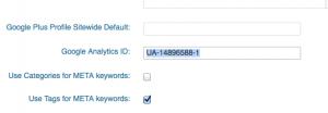 google analytics id account number
