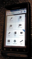 my motorola global2 android wordpress machine