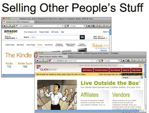 selling other peoples stuff affiliate marketing